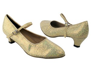 "1682 173 Light Gold Scale with 1.3"" Heel in the photo"