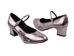 "1682_3008 208 Ultra Grey with 2"" Thick Cuban heel in the photo"