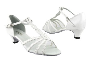 1692 White Leather_White Mesh