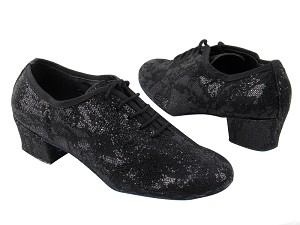 "2001 165 Lace Black Scale with 1.5"" heel in the photo"