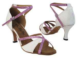 2829LEDSS 100 White Stardust_16 Light Purple Stardust_T_S with 1995_2.75 inch Heel in the photo