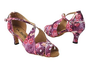 3030LEDSS 152 Purple Champagne Flower Satin
