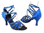 5008 247 Gem Blue Satin_Black Mesh