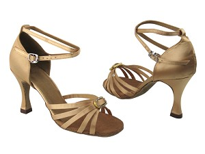 6005 135 Light Brown Satin & Stone