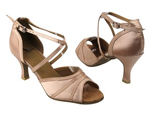 6023 Light Brown Satin