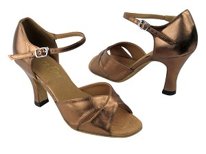 6029 171 Dark Tan Gold Leather