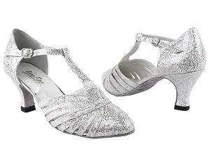"6829 107 Silver Scale with 2.5"" Heel in the photo"