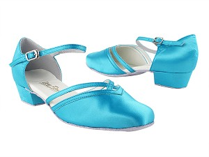 8881 230 Light Blue Satin_Whole Shoes