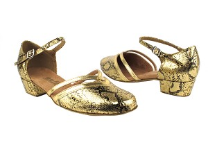 8881 251 Gold Snake_Gold Leather Trim