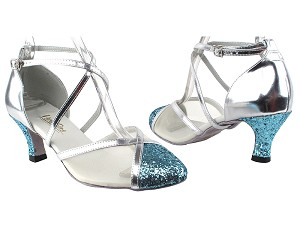 9622 188 Light Blue Sparkle_T_H_Silver Leather_B_S