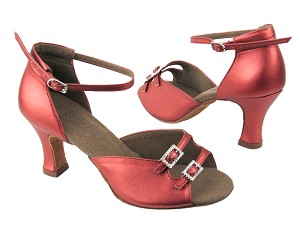 C1620 BB9 Coffee Red Leather