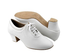 C2601 White Leather