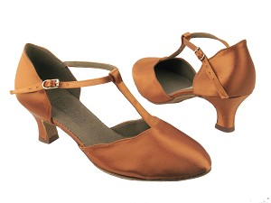 C6819 3 Dark Tan Satin