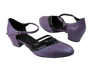 C8881 BC14 Light Purple Light Leather_BA60 Black Patent Trim