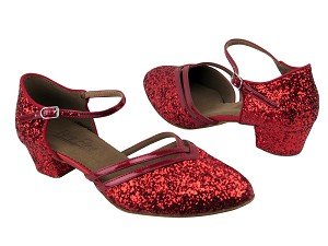C8881 BF18 Red Sparkle_BA72 Red Patent Trim