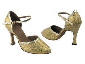 C9621 BF29 Gold Scale & Gold Leather Trim