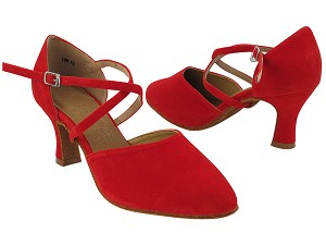 "C9691 251 Red Velvet with 2.5"" Heel (PG) in the photo"