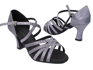 S9216 11 Grey Stardust with 2.5 inch Heel (Heel Code PG-11046) in the photo