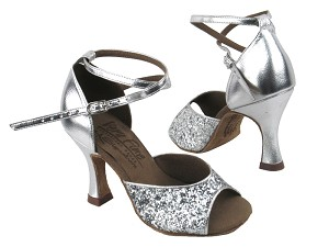 S9220 BF15 Silver Sparkle_Silver Leather