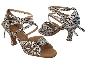 S92307 259 Snow Leopard Satin_Double Straps