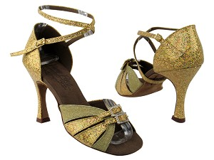 S92307 BD66 Glitter Gold Satin & BF29 Gold Scale