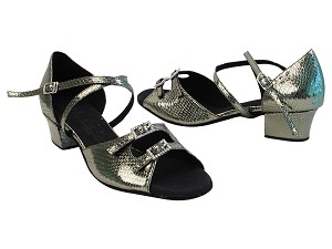 SERA1620 106 Snake Grey Satin_SERA1605 BackStrap