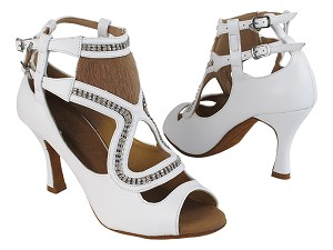 SERA7018 277 Genuine White Leather