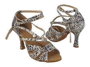 SERA7020 259 Snow Leopard Satin_same as S92307_Double Straps