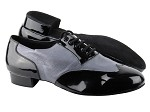 CM100101 Black Patent_BC17 Grey Light Leather