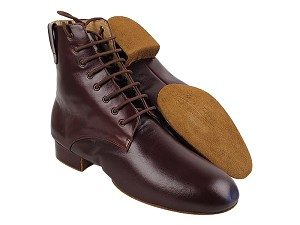 RCCL9002NZ (8 Eyelets Version) Dark Tan Leather