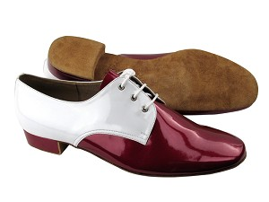 S304 Red Patent_White Patent