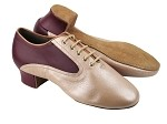 S421New BC1 Light Tan Light Leather_BB11 Burgundy Leather