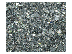 07 Silver Sparkle Fabric Swatch