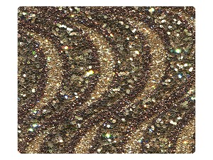 217 Copper Sparkle Fabric Swatch