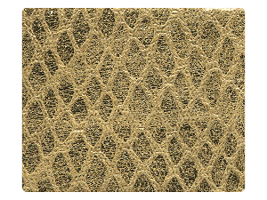 226 Snake Gold Fabric Swatch