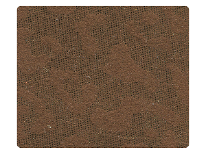 176 Copper Velvet Leopard Fabric Swatch