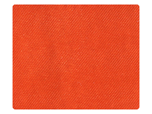 90 Orange Satin Fabric Swatch
