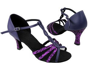 S92300_C1692_BH2 Purple Sparkle_H_BB23 Purple Leather Without Mesh