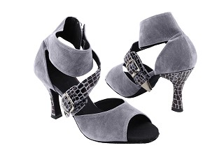 "SERA7015 Lavender Gray with 3"" heel in the photo"