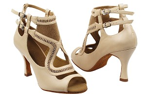 "SERA7018 Beige with 3"" heel in the photo"