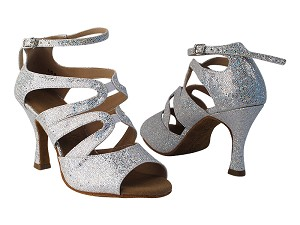 "SERA7039 Silver Scale with 3"" heel in the photo."