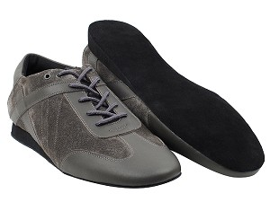 SERO106BBX Grey Leather_Grey Suede